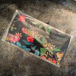 New Johnny Was Silk Floral Boho Face Mask NWT